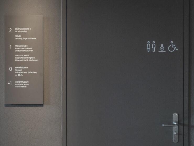 Martin Birrer Design Museum Burghalde Signaletik 08 Martin Birrer Design Bern
