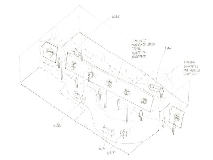 MartinBirrerDesign TakeASeat Skizze Martin Birrer Design Bern